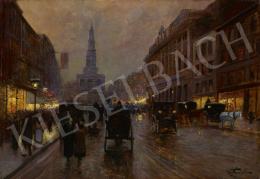 Stoitzner, Constantin - London (Evening in London)