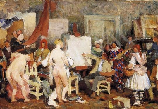 Ismeretlen festő, 1930 körül - A festő és modelljei | 5. Aukció aukció / 26 tétel