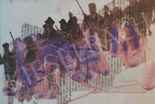 Eladó Lux Antal - Lavinenparkett festménye