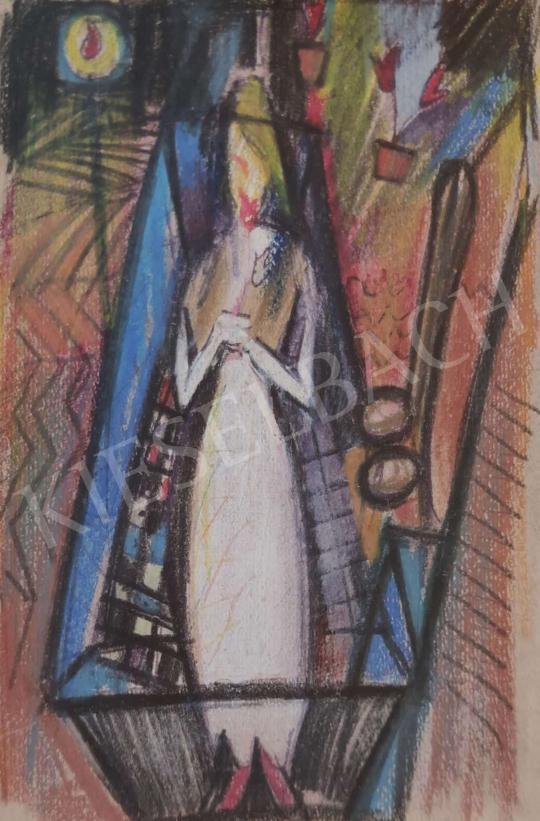 Eladó  Mersits Piroska - Ravatal IV.  festménye