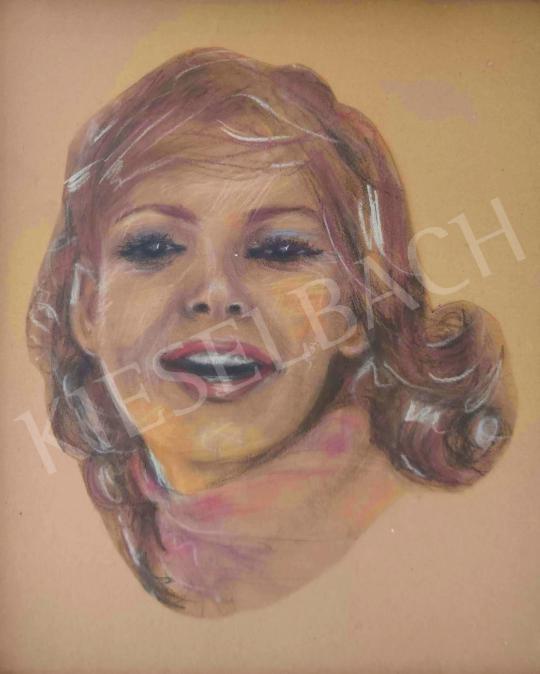 Eladó Ismeretlen festő - Kim Catrall festménye