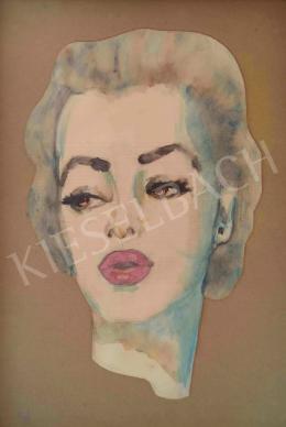 Ismeretlen festő - Marilyn Monroe