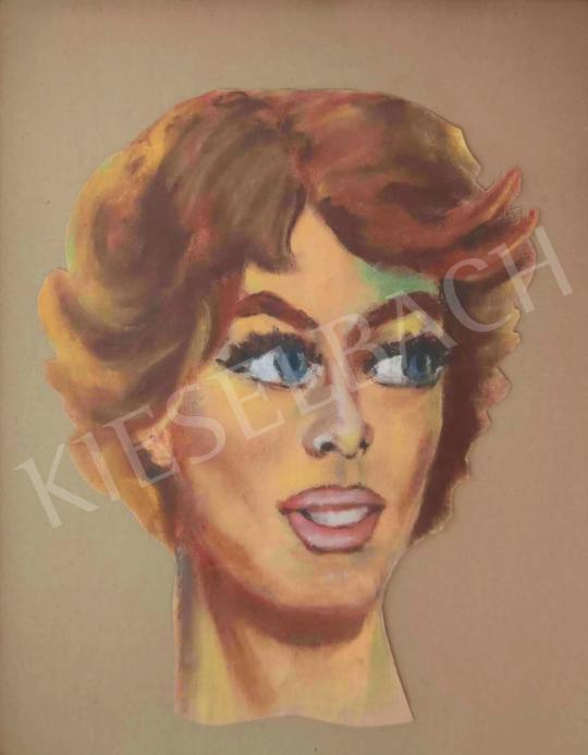 Eladó Ismeretlen festő - Sophia Loren  festménye