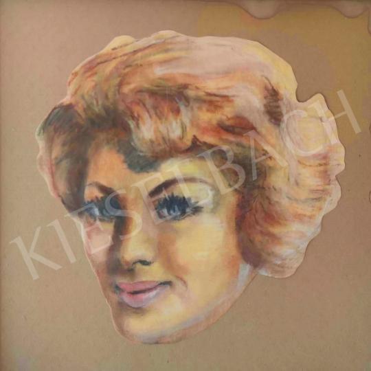 Eladó Ismeretlen festő - Rita Hayworth  festménye