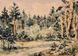 G Farkas Géza  - Pápai erdőben