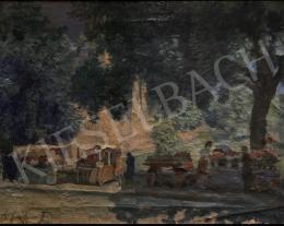 Csejtei Joachim Ferenc - Virágpiac Szegeden 1940
