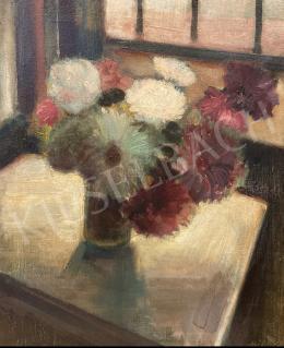 Miháltz Pál - Műtermi virágcsendélet 1930-as évek