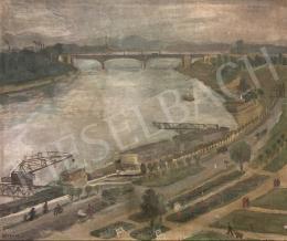 Péter Mária - Újpesti látkép