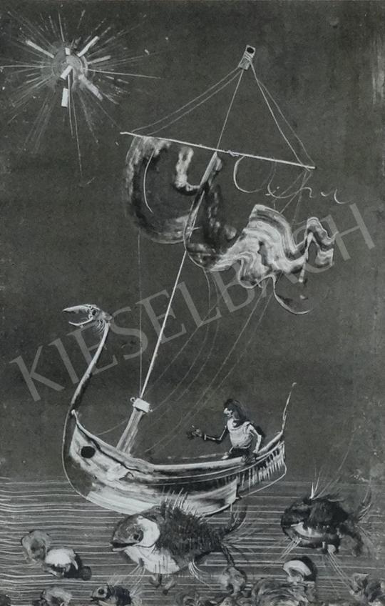 Eladó  Szász Endre - Álmok vizein festménye
