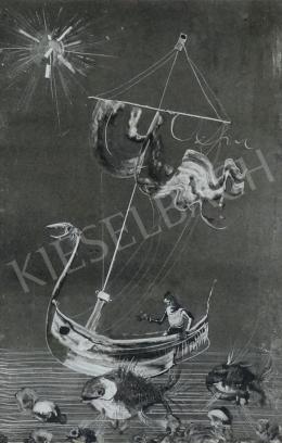 Szász Endre - Hajó a tengeren