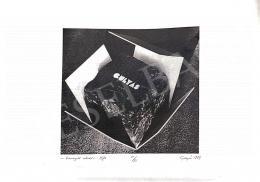Gyula Gulyás - Wrapped Stone, 1974