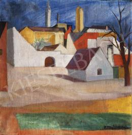 Modok Mária - Szentendrei házak, 1930 körül