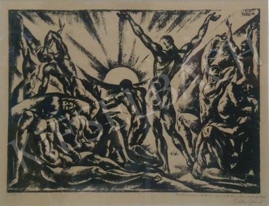 For sale  Gábor, Jenő -  The Rising Sun 's painting