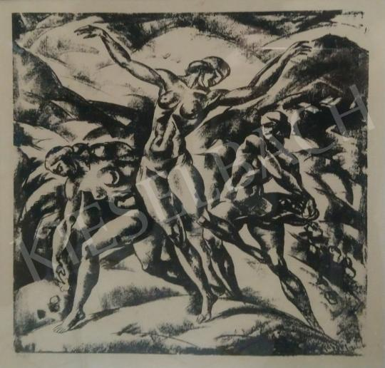 Eladó  Gábor Jenő - Tánc (Árkádia jelenet), 1922 festménye