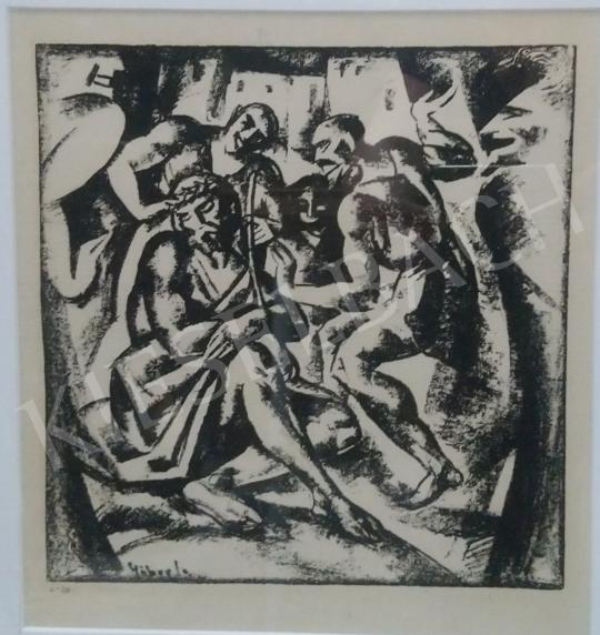 Eladó  Gábor Jenő - Töviskoronázás festménye