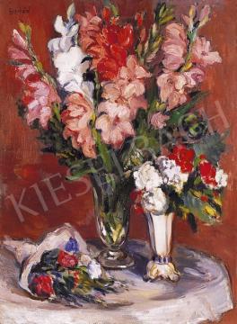 Emőd Aurél - Kardvirágok és rózsák | 5. Aukció aukció / 33 tétel