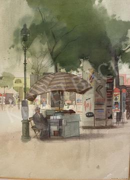 Hende Vince - Budapest (Gázlámpa, hirdetőoszlop) 1943