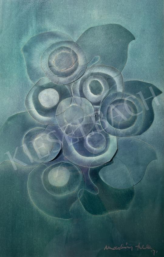 Eladó  Macskássy Izolda - Lélekvirágok, 1971 festménye