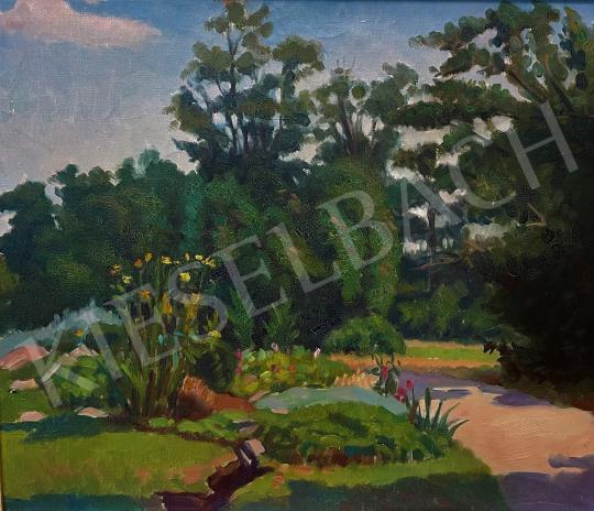 Eladó Galla Endre - Virágos park (Margitsziget) festménye