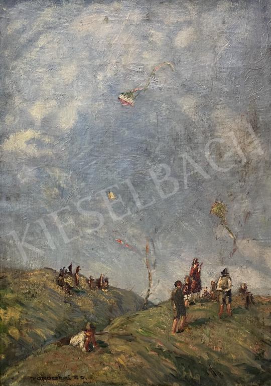 Eladó Toroczkay Oszvald - Sárkányeregetők festménye