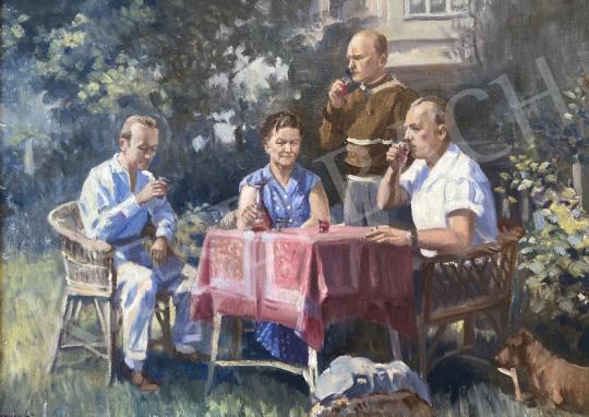Eladó Ismeretlen festő - Nyári hangulat festménye