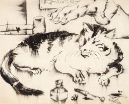 Hajnal János - Achtung! (Macska), 1933