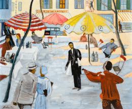 Monostori Moller Pál - Párizsi vendéglők (Montmartre)