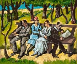 Scheiber, Hugó - In the Park, 1930s
