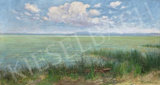 Mészáros Jenő - A Badacsony Fonyód felől, 1931   66. Aukció aukció / 16 tétel