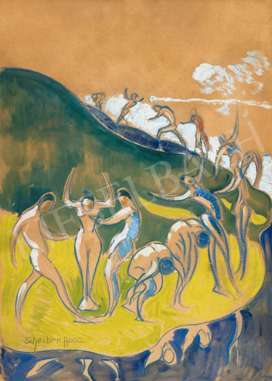 Scheiber Hugó - A tánc apoteózisa, 1910-es évek  | 66. Aukció aukció / 27 tétel