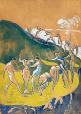 Scheiber Hugó - A tánc apoteózisa, 1910-es évek