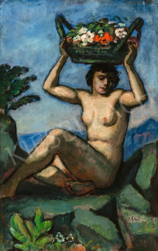 Iványi Grünwald Béla - Tavaszünnep, 1910-es évek | 66. Aukció aukció / 29 tétel