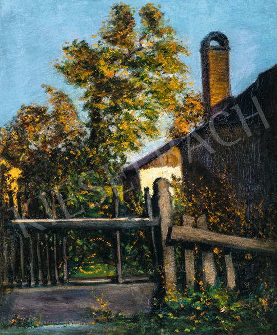 Tagyosi Rátz Péter - Őszi kert Nagybányán, 1906 | 66. Aukció aukció / 34 tétel