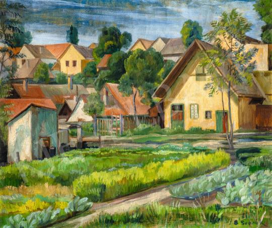Bánáti Sverák József - Szentendrei részlet, 1935 körül | 66. Aukció aukció / 35 tétel