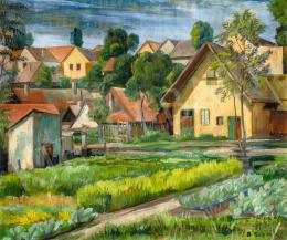 Bánáti Sverák József - Szentendrei részlet, 1935 körül