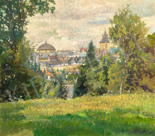 Boemm Ritta - Napfényes mező (Lőcse, Levoca, Leutschau), 1910-es évek | 66. Aukció aukció / 37 tétel