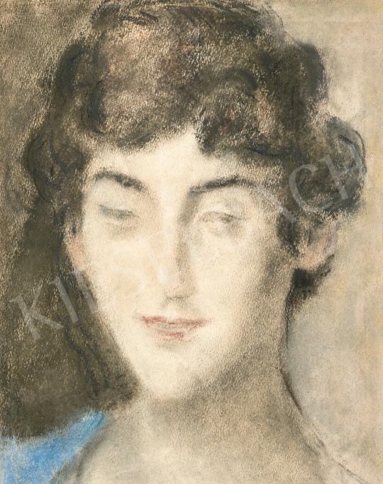 Rippl-Rónai József - Női portré (Zorka), 1920-as évek | 66. Aukció aukció / 40 tétel