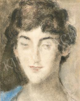 Rippl-Rónai József - Női portré (Zorka), 1920-as évek