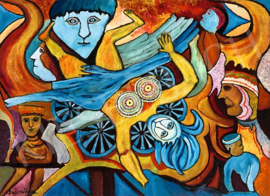 Balázs János - Sorsok, emberek, 1972 körül | 66. Aukció aukció / 45 tétel