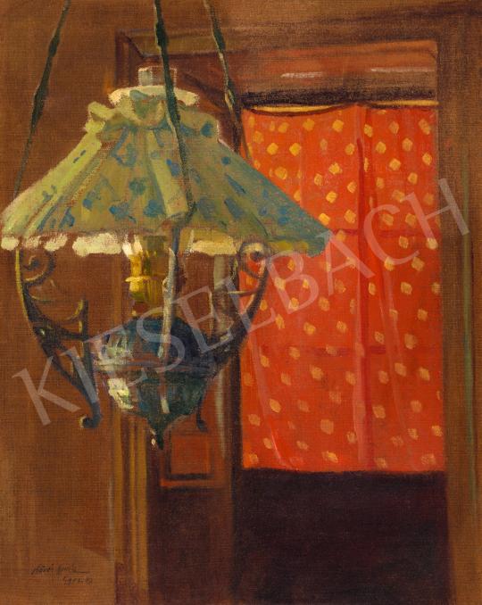 Kövér Gyula - Lámpa, 1909 körül | 66. Aukció aukció / 48 tétel