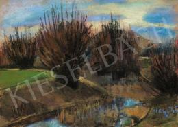 Nagy István - Fák a folyóparton