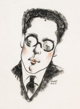 Kádár Béla - Paul Arma portréja