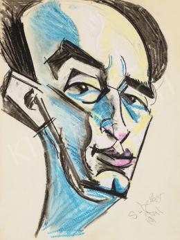 Scheiber, Hugó - Portrait of a Man, 1941