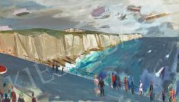 Bernáth Aurél - Angol tengerpart (Dover-i sziklák), 1963