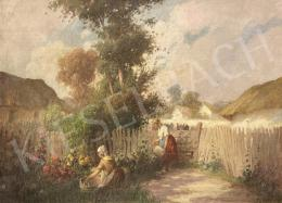Ács, Ágoston - Village Scene