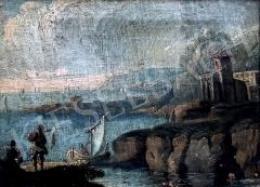 Ismeretlen 18. századi művész - Kikötő