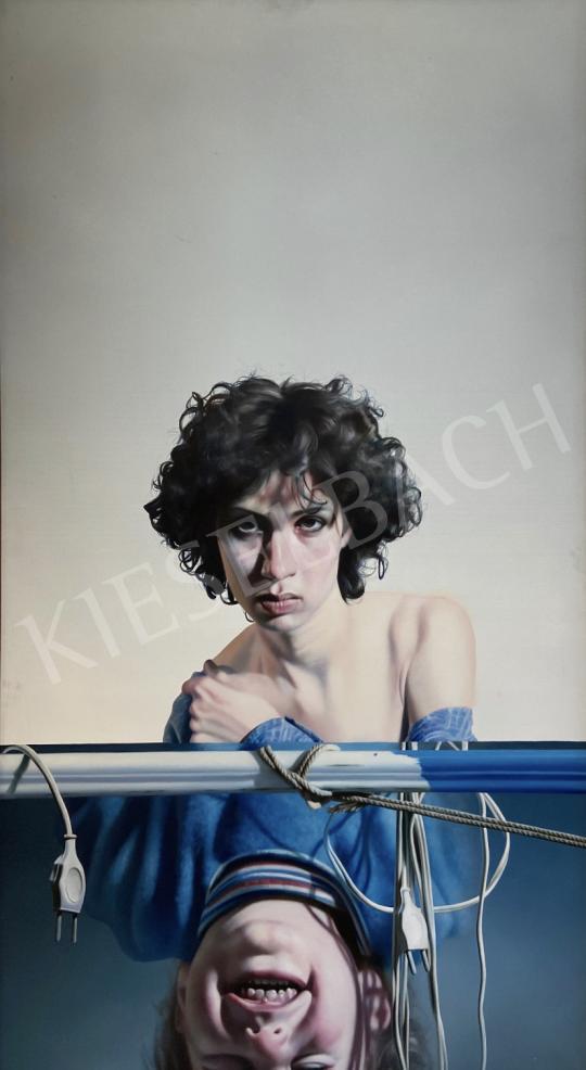 Eladó  Sándorfi István - Antigoné, 1976 festménye