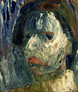 Börzsönyi Kollarits Ferenc - Női portré