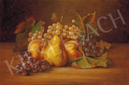 Ádler Mór - Őszi gyümölcscsendélet