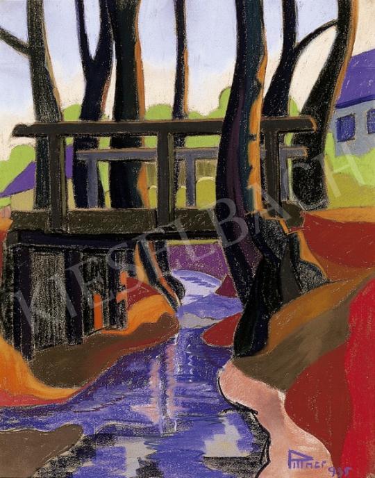 Pittner Olivér - Híd Nagybányán   5. Aukció aukció / 115 tétel